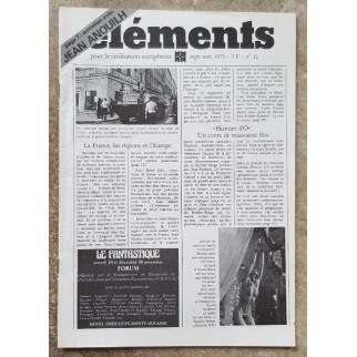 Revue Eléments n°12