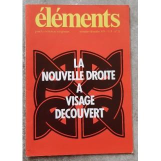 Revue Eléments n°32