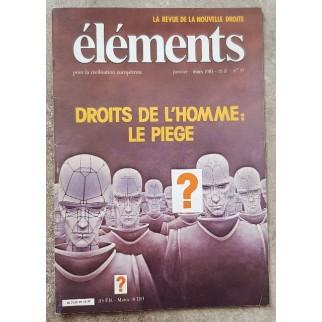 Revue Eléments n°37