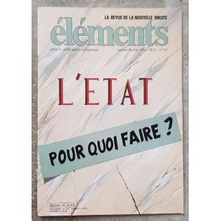 Revue Eléments n°44