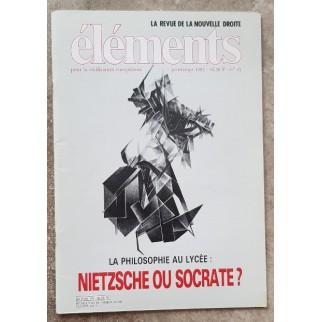 Revue Eléments n°45