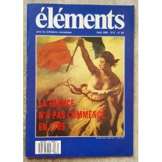 Revue Eléments n°64