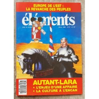 Revue Eléments n°67
