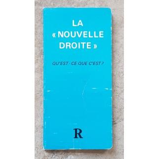 """La """"Nouvelle Droite""""...."""