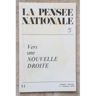 La pensée nationale: Vers...
