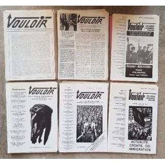 Revue Vouloir (50 numéros)