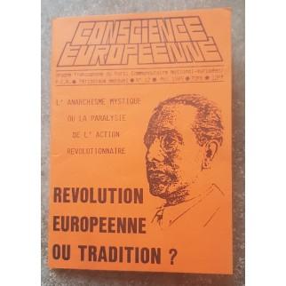Revue Conscience européenne...