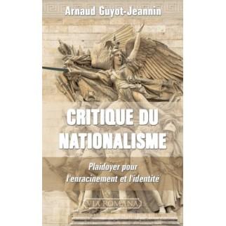 Critique du nationalisme....