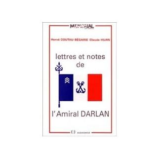 Lettres et notes de l'Amiral Darlan