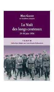 La Nuit des longs couteaux. 29-30 juin 1934