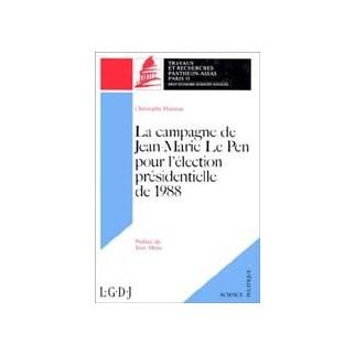 La campagne de Jean-Marie Le Pen pour l'élection présidentielle de 1988
