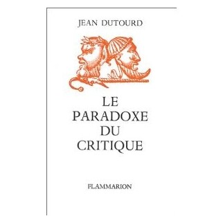 Le paradoxe du critique