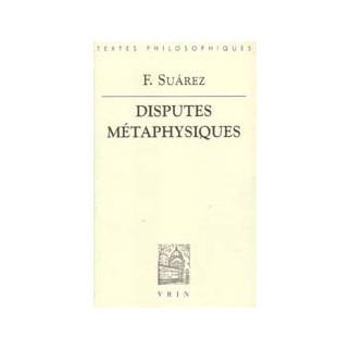 Disputes métaphysiques, tomes 1 à 3