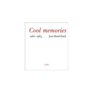 Cool memories (journal 1980-1985)