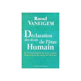 Déclaration des droits de l'être humain
