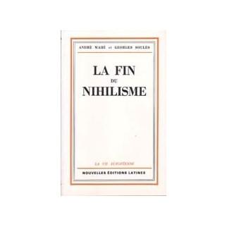 La fin du nihilisme