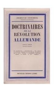 Doctrinaires de la révolution allemande