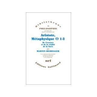 Aristote, métaphysique 1-3