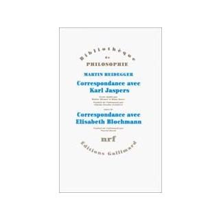 Correspondance avec Karl Jaspers