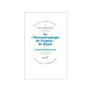 "La ""Phénoménologie de l'esprit"" de Hegel"