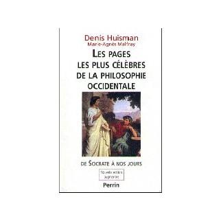 Les pages les plus célèbres de la philosophie occidentale