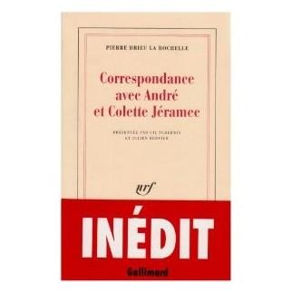 Correspondance avec André et Colette Jéramec