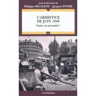 L'armistice de juin 1940