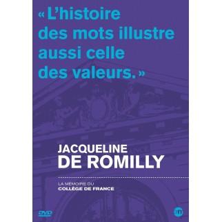 La mémoire du Collège de France : Jacqueline de Romilly
