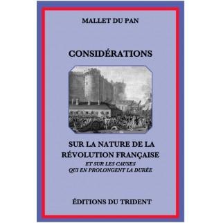 Considérations sur la nature de la Révolution française