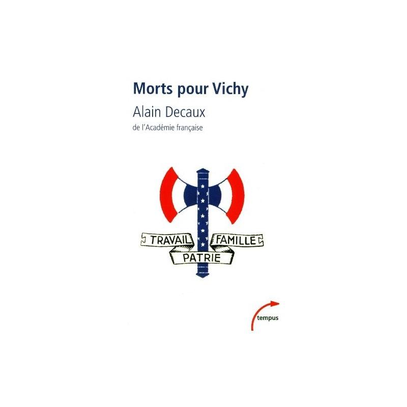 Morts pour Vichy (poche)