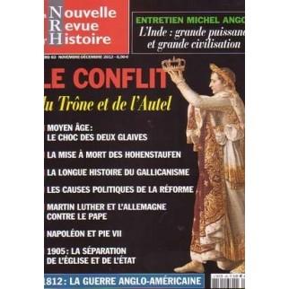 La Nouvelle Revue d'Histoire n°63