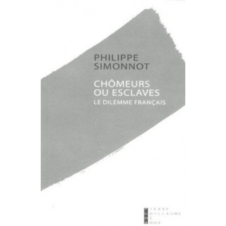 Chômeurs ou esclaves : Le dilemne français