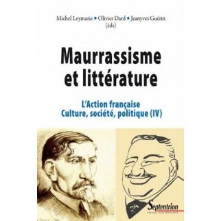 Maurrassisme et littérature