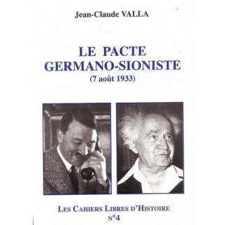 Le pacte germano-sioniste