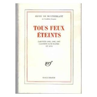 Tous feux éteints, carnet 1965, 1966, 1967, carnets sans dates