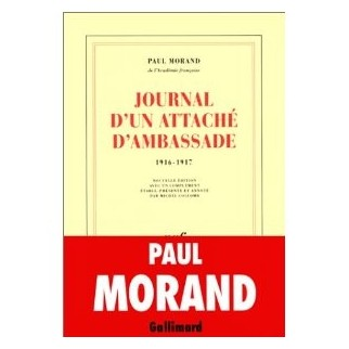 Journal d'un attaché d'ambassade (1916-1917)