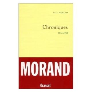 Chroniques, 1931-1954