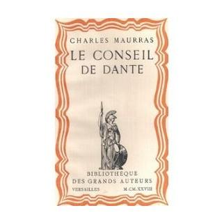 Le conseil de Dante, 1321-1921