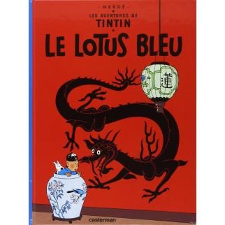 Tintin, tome 5, le Lotus Bleu