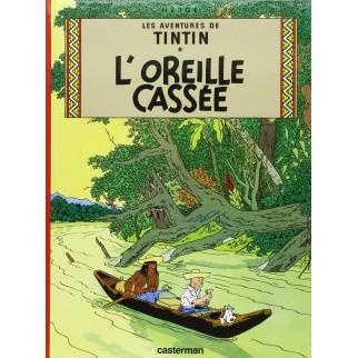 Tintin, tome 6, l'oreille cassée