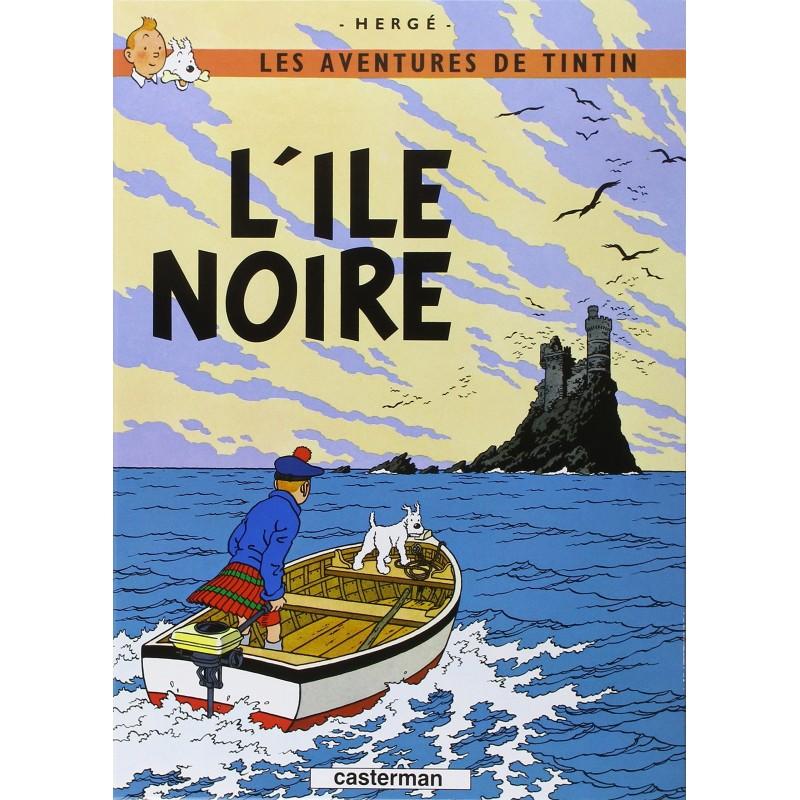 Tintin, tome 7, L'île Noire