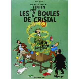 Tintin, tome 13, Les 7 Boules de cristal
