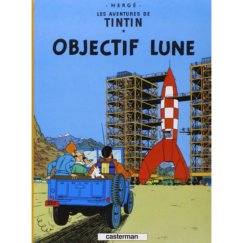 Tintin, tome 16, Objectif Lune