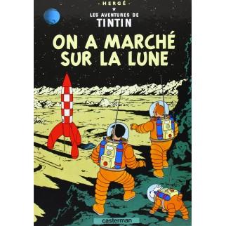 Tintin, tome 16, On a marché sur la lune