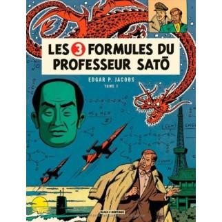 Blake et Mortimer - Les 3 formules du professeur Sato (Tome 1)