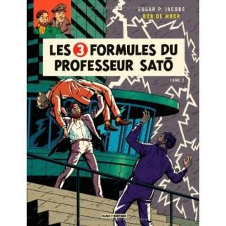 Blake et Mortimer - Les 3 formules du professeur Sato (Tome 2)