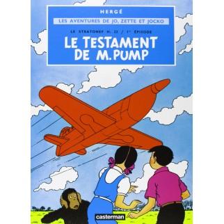 Les aventures de Jo, Zette et Jocko - Le Testament de Monsieur Pump
