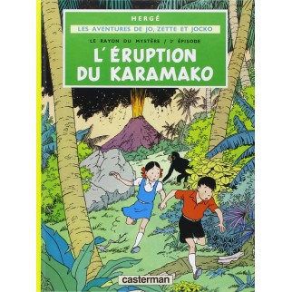 Les aventures de Jo, Zette et Jocko - L'éruption du Karamako