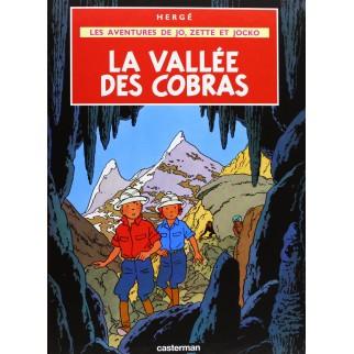 Les aventures de Jo, Zette et Jocko - La Vallée des cobras