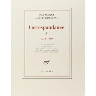 Paul Morand - Jacques Chardonne : Correspondance 1949-1960